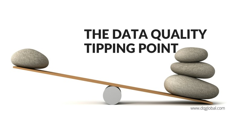 The Data Quality Tipping Point